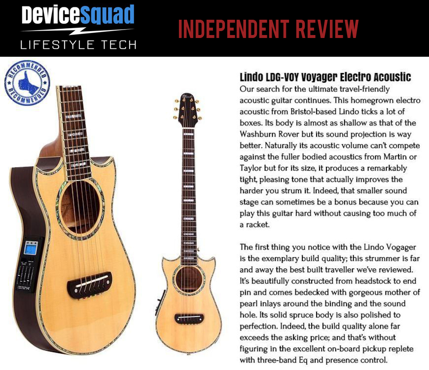 Lindo Acoustic Travel Guitar Review