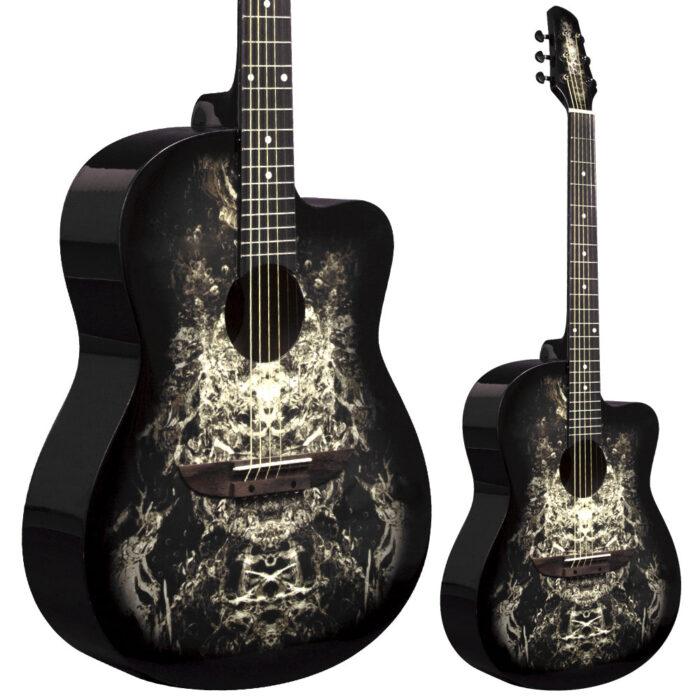 lindo-933c-black-alien-acoustic-guitar