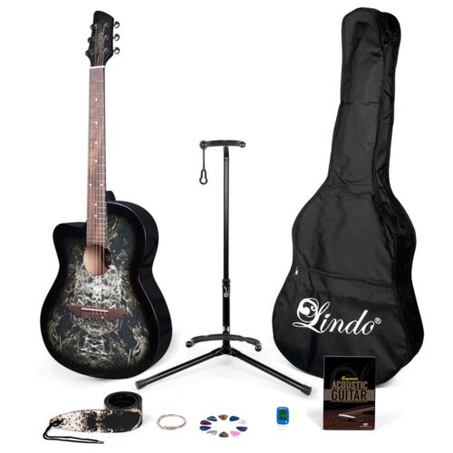 lindo-left-handed-black-alien-acoustic-guitar-pack