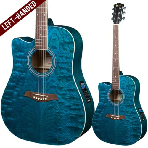 Lindo Left Handed Willow Electro Acoustic Guitar