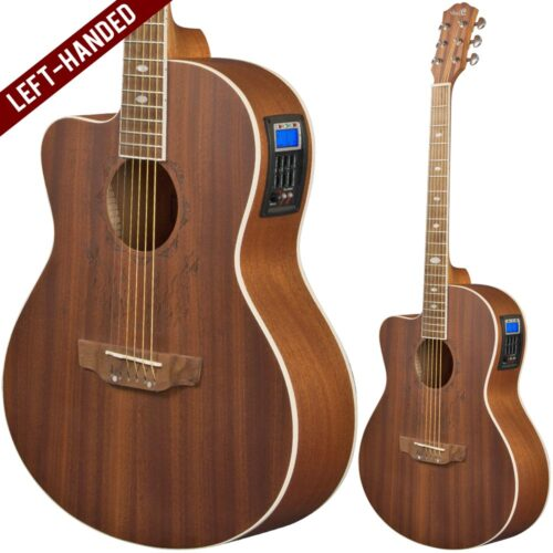 Lindo Left Handed Feeling Electro Acoustic Guitar with TOPS-4T Preamp / Tuner