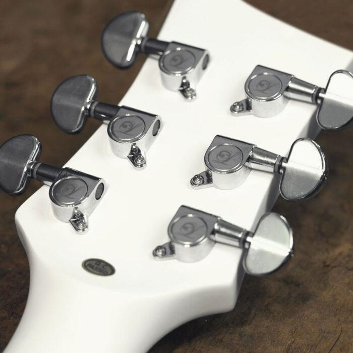 Lindo Left Handed White Dove V2 Electro Acoustic Guitar and Padded Gigbag