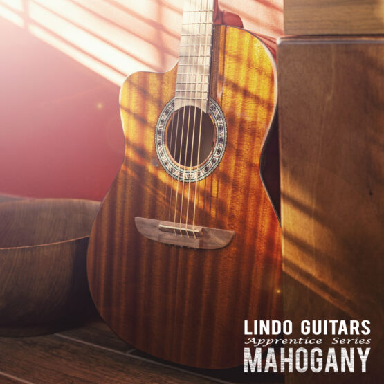 Lindo-Left-Handed-931C-Mahogany-Acoustic-Guitar-