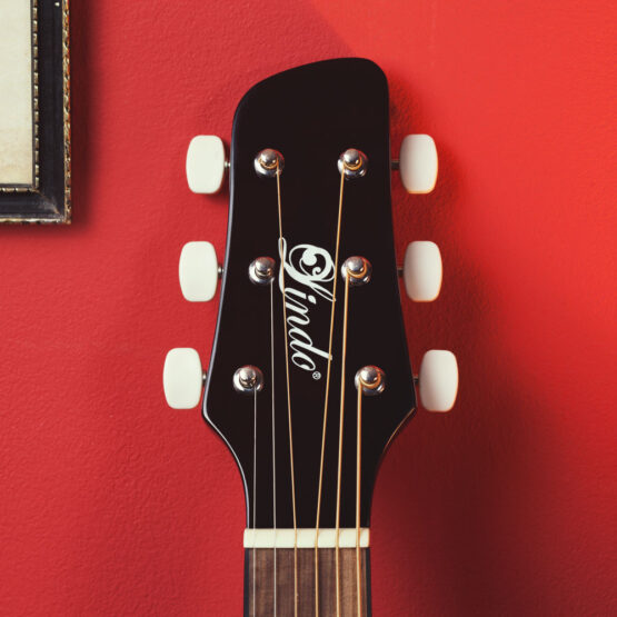 Lindo-Left-Handed-931C-Mahogany-Acoustic-Guitar-headstock-
